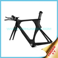 Chinese Yishunbike TT FM068 carbon bike frame bicycle time trial frame sale