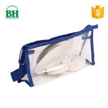 wholesale mini clear pvc purse toiletry canvas travel cosmetic packaging organizer multipurpose bag