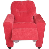 Modern fabric kids recliner chair for living room reclliner chair for wholesale