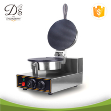 Commercial Stainless Steel Single Plate Electric Waffle Cone Baker/Waffle Stick Maker