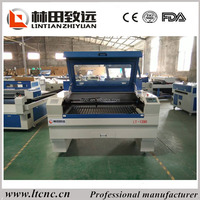 MDF Laser Engraving Machine , Laser Cutter 90w 1390