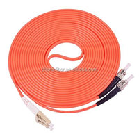 High quality Corning fiber optical Jumper cable MM Fiber optic LC-ST patch cord