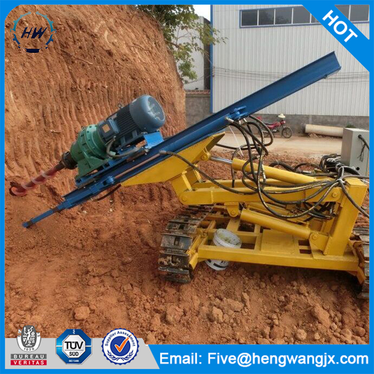 crawler hydraulic deep rock electric rotary hammer drill for sale
