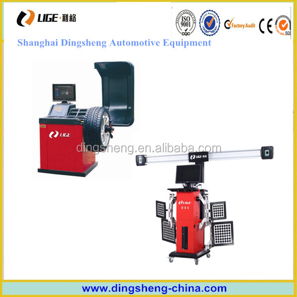 Wheel aligner & lift & wheel balancer for auto repair machines