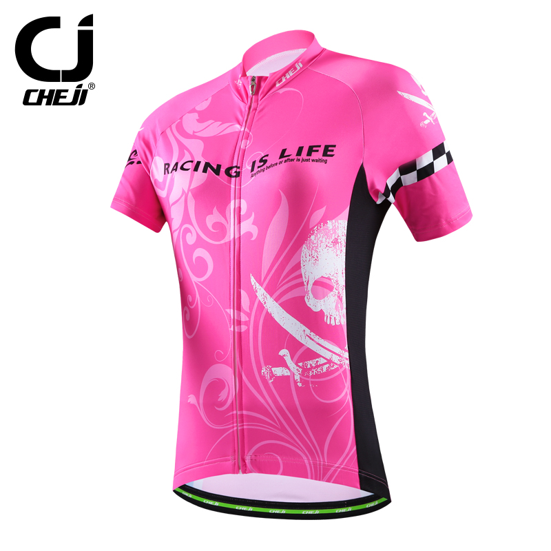 2016 cheji womens biking clothing <strong>specialized</strong> / custom cycling jersey quickly vents perspiration jersey sports top