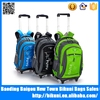 High quality fashion rolling backpack custom child wheeled trolley school backpack alibaba China