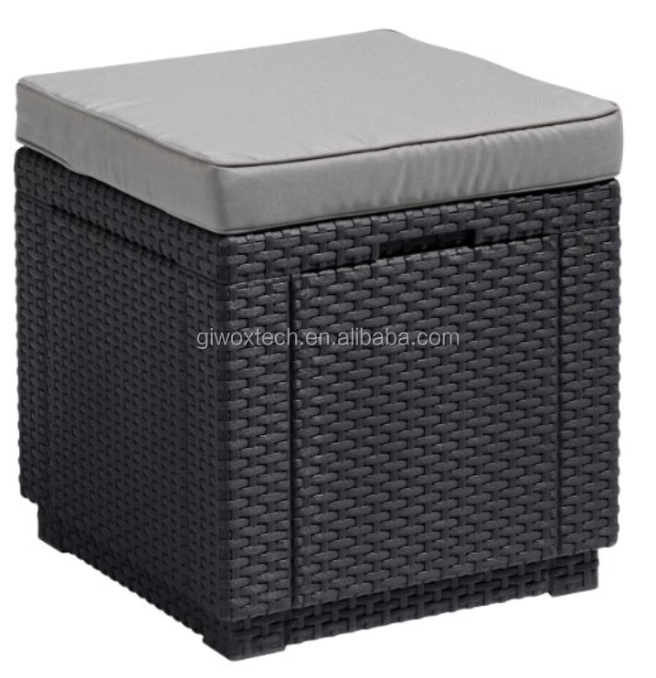 Rattan style cooler box