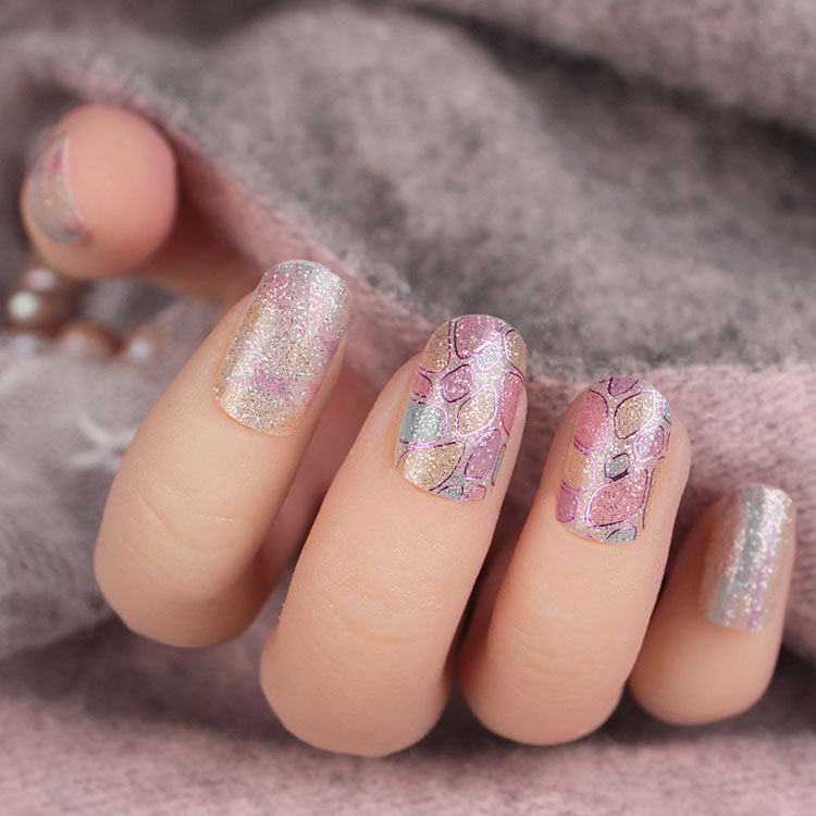 Waterproof Stickers Beautiful Nail Art Designs
