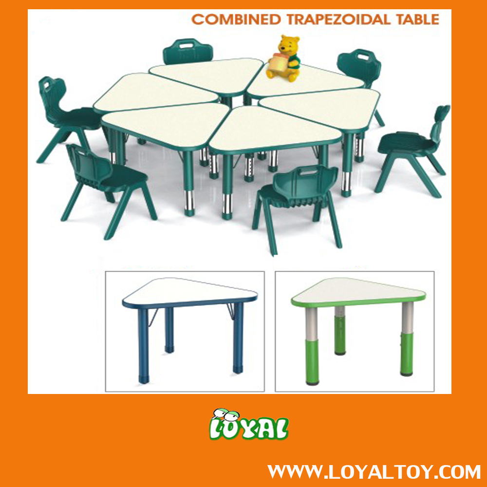 2016 NEW STYLE child table,daycare table,kids table with low cost from China Factory Good Quality