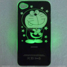 2013 mobile accessory hard case led flash light up for iphone 4 led case P-iPHN4SHC030