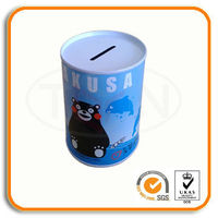 promotion gift tin coin bank