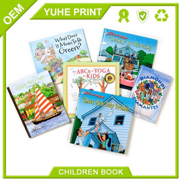 Cheapest price high quality popular design offset priting art paper children story book printing