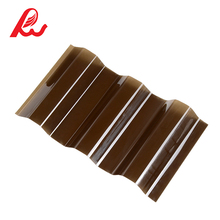 plastic corrugated sheet roofing polycarbonate sheet price