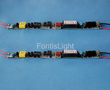 China supplier LED Driver with CE &RoHS & T8 isolated led tube driver/led tube driver 25w