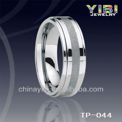 Tungsten simple cute rings