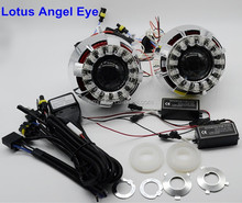 G7 Lotus Angel eye Dual Angel eyes Projector Lens Light, bi-xenon projector lens light,angel devil eyes xenon light