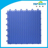 Hot selling outdoor sports plastic floor covering