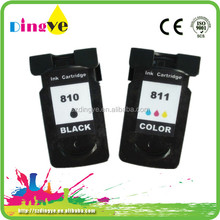 refillable ink cartridge for canon pg-810 cl-811