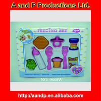 SMALL TOY DOLL FEEDING SET