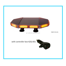 "Whelen 18"" Inch Low Profile Magnetic Roof Mount Emergency Vehicle Strobe Warning Mini Light Bar TBD8711W-0.5M"