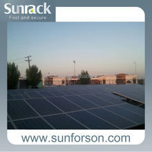 Labor Saving Single Pole Solar Panel Mounting System/PV Support Structures