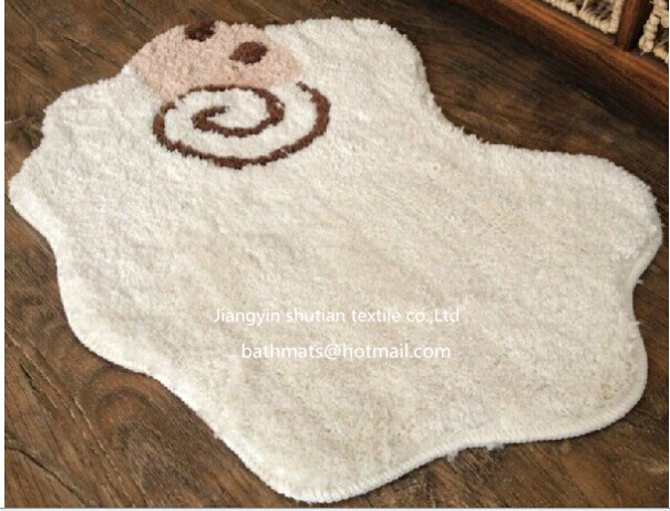 Beautiful Kids Cartoon Floor Carpet Animal Shaped Rugs