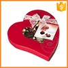 Custom paper box for packing chocolate with bow decoration