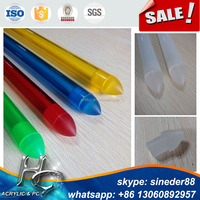 Wholesale Clearand Colored Polycarbonate Tube with Tip For Lightsaber