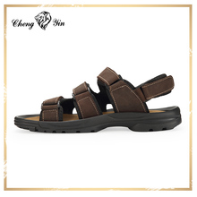 China wholesale Hot sale Leather Upper slippers for men Arab sandals shoes men