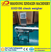 CE approved high precise conveyor check weigher manufacturer