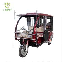 2016 new design tricycle passenger electric pedicab tuk tuk rickshaw for sale