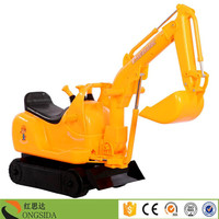 China Manuafacturer Wholesale Baby Battery Operated Excavator Kids Electric Ride On Toy Vehicle Mini Excavator