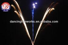 fireworks display cakes180 Shots W Shape Brocade Tail with Silver Fish