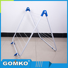 Free Standing Metal foldable Cloth Drying laundry rack