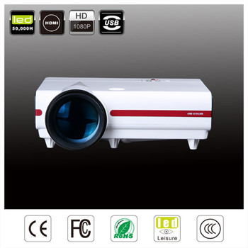 HDMI &USB&VGA&AUDIO 3500 lumens mini led cheapest portable Projector