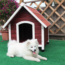 China wholesale Waterproof wooden dog kennel