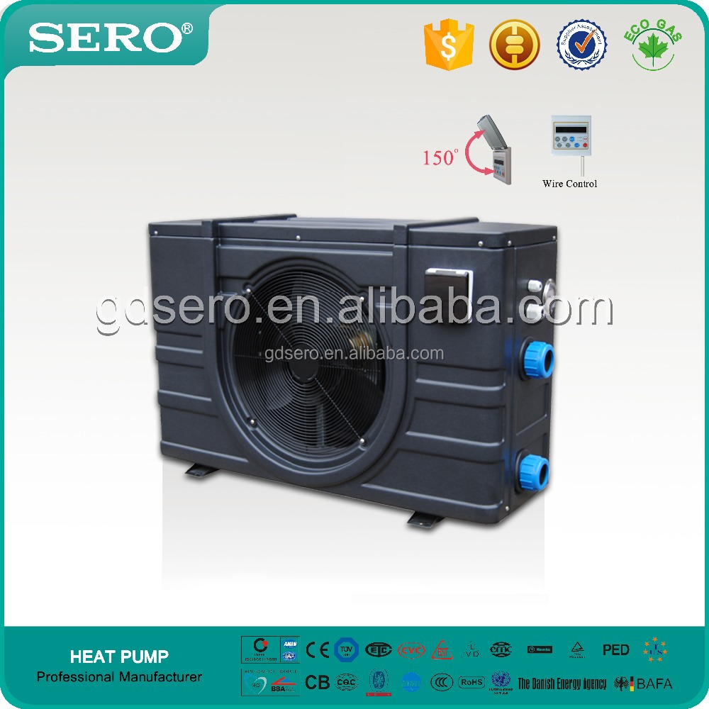 Swimming Pool / Spa Heater & Chiller (Plastic Shell, horizontal discharge)
