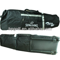 Golf air bag,golf travel cover with wheel