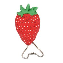 32GB USB Flash Drive with Fruit Design, 4GB Cute Fruit Strawberry Shaped USB memory disk pens, PVC strawberry pens usb