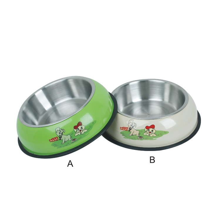 High quality cheap price pet steel stainless steel dog bowl