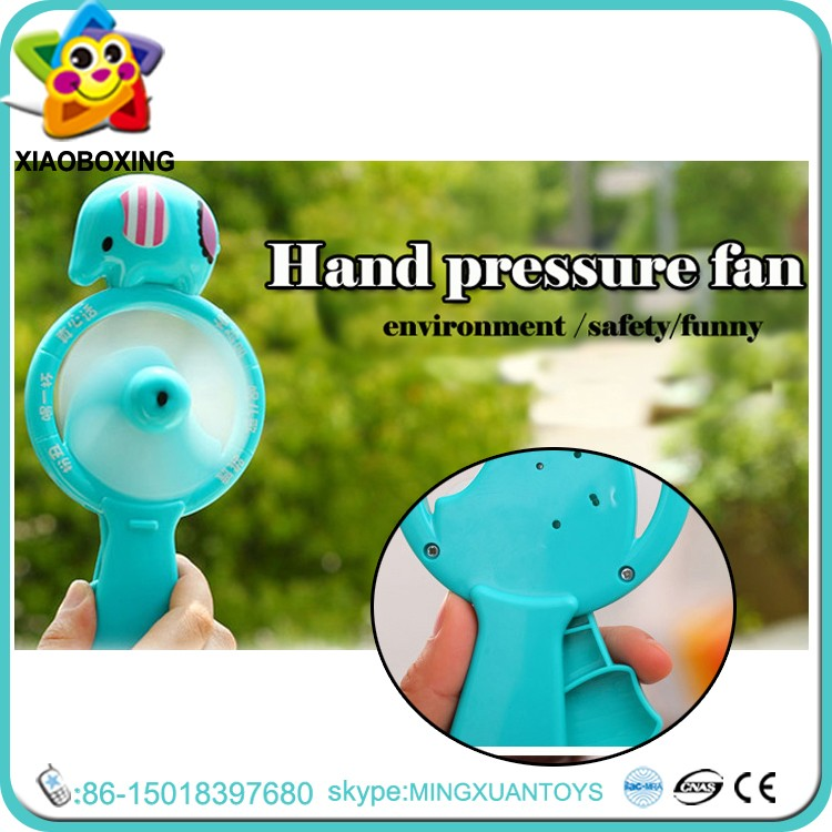 Summer toy plastic personal windy hurricane fan