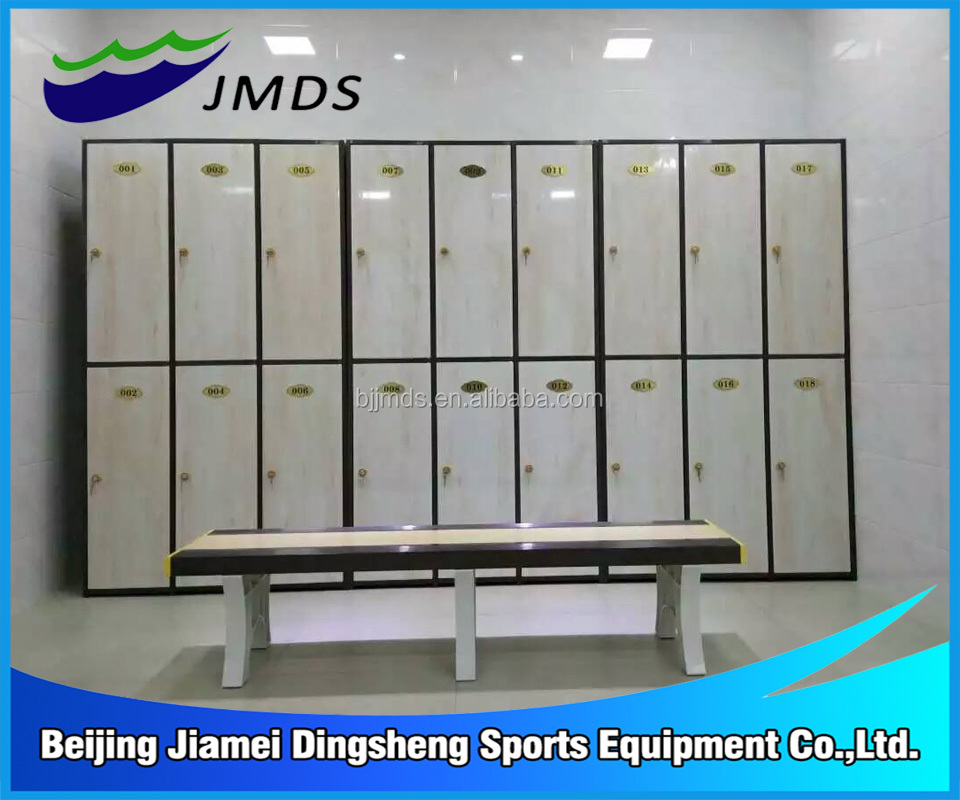 wholesale wood like locker changing room for swimming pool