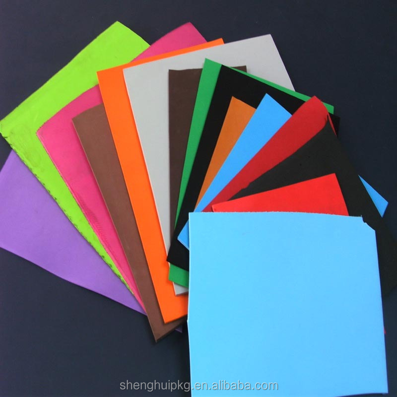 High-elastic professional supplier of eva foam sheet thickness 1mm 2mm 1.5mm 10mm 40mm for maufactory