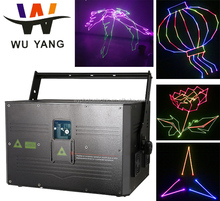 4w dmx rgb multicolor animation stage disco laser light for dj