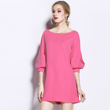 2018 Summer Fashion Women's Clothing Young Ladies' Dress Chiffon Dress