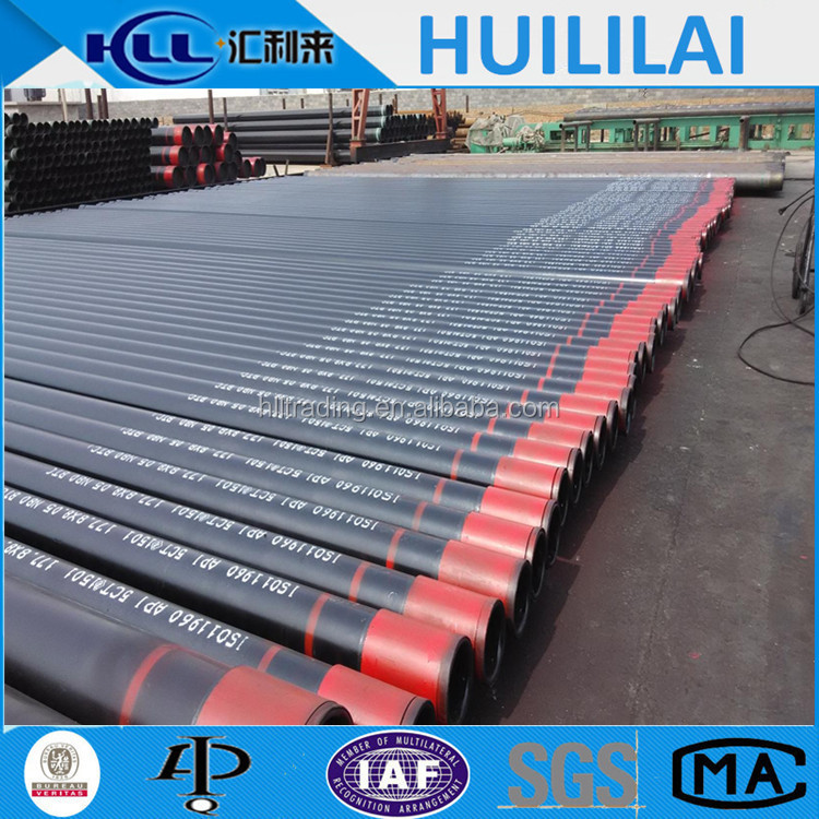 oil and gas well api 5ct steel casing pipe