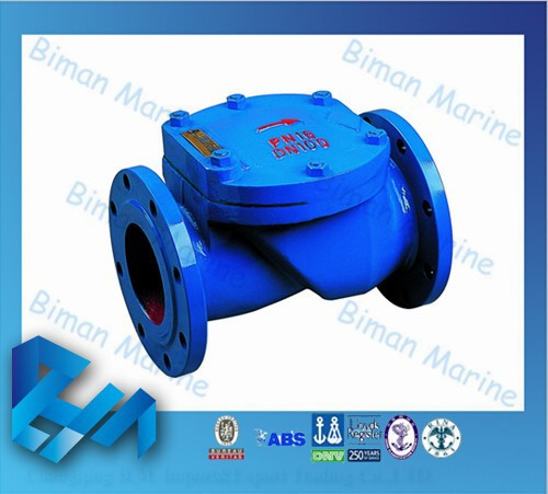 Marine Ductile Iron Swing Check Valve Flap Check Valve