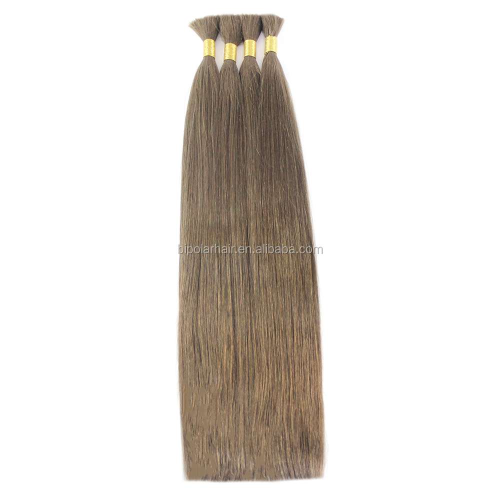 100% Virgin Unprocessed Russian Hair Extension Human Hair Bulk