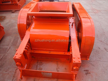 Huahong Iron Ore Crushing Plant Double Roller Teethed Crusher
