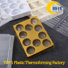 plastic thermoforming chocolate tray with competitive price